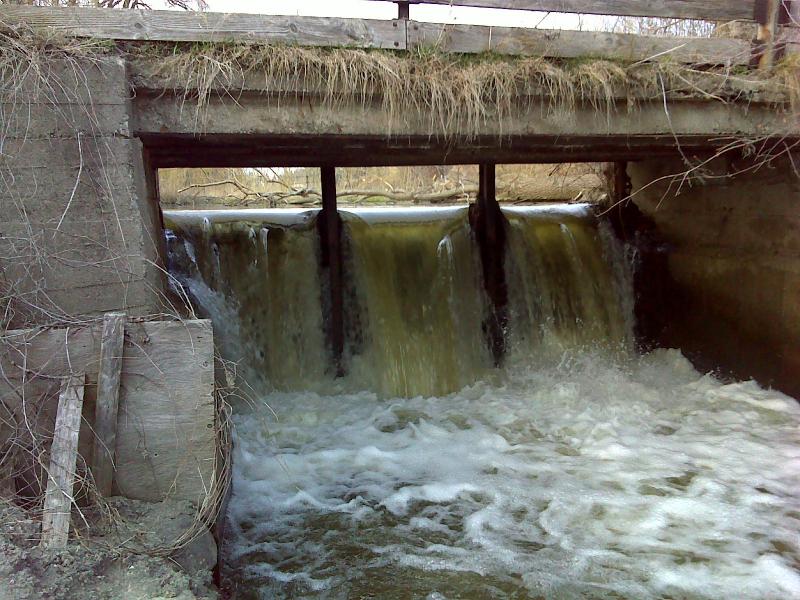 Existing dam