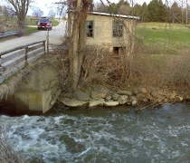 Existing old mill building