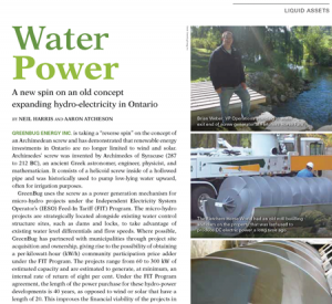 Water Canada - GreenBugEnergy