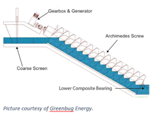 hydro screw generation
